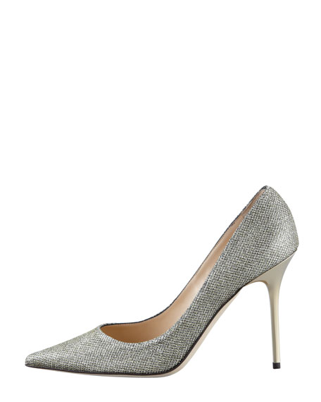 Abel Glitter Pointed Pump