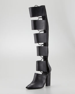 Alexander Wang Marta Runway Cutout Knee Boot