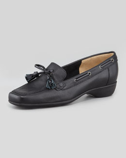 Sesto Meucci Echo Tassel Loafer, Black