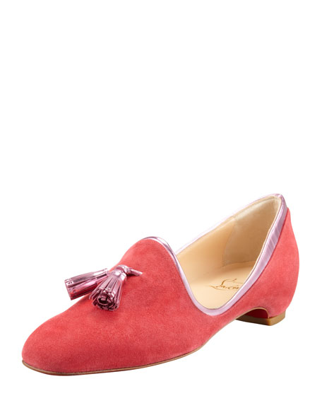 Lady Moc Suede Loafer, Rose Paris