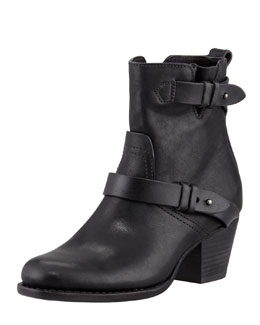 Rag & Bone Harper Leather Motorcycle Boot