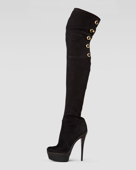 pay with paypal online Rachel Zoe Suede Over-The-Knee Boots sale online shopping discount explore Inexpensive online EyzaS