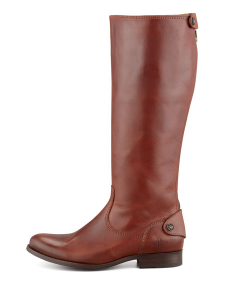 Melissa Zip Riding Boot