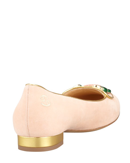 Birthday Cancer Zodiac Smoking Slipper, Light Pink
