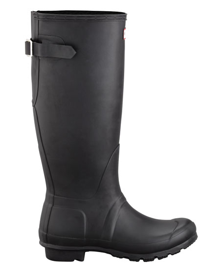 Flat Adjustable Matte Welly