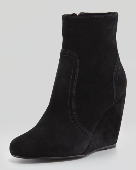 Find great deals on eBay for Black Suede Wedge Bootie. Shop with confidence.