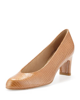 Stuart Weitzman Chicpump Round Toe Pump, Taffy