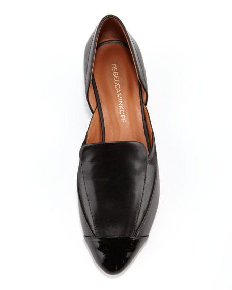 Rebecca Minkoff Harper Leather & Mesh Loafer, Black