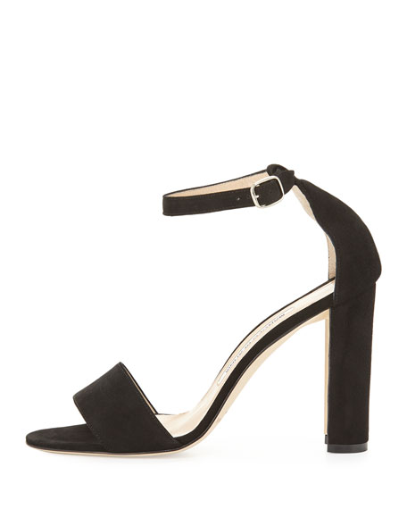 manolo blahnik black sandals