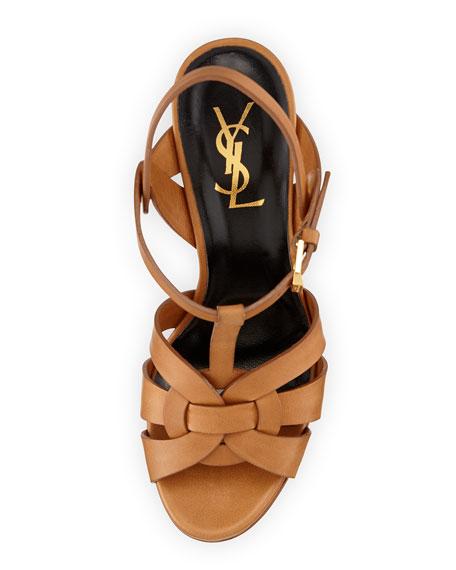 Tribute Leather Platform Sandal