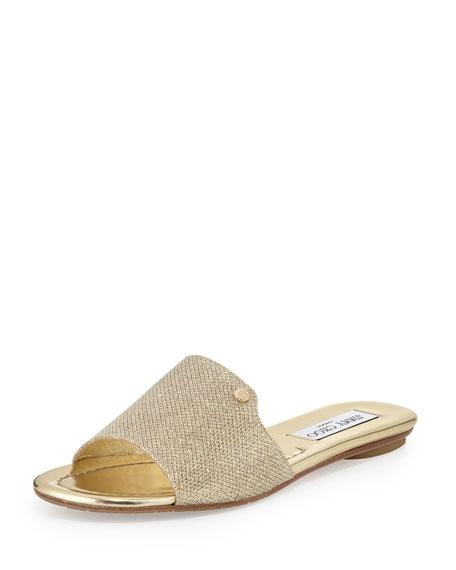Jimmy Choo Nanda Fabric Sandal Slide Sandal