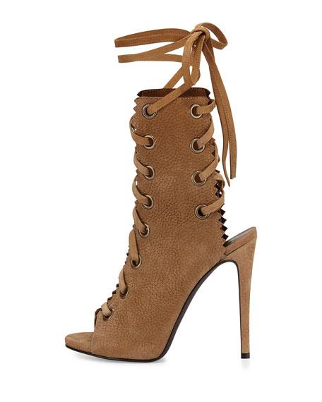 Giuseppe Zanotti Leather Lace Up Boots ljnxy