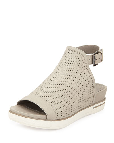 Cover Perforated Sport Sandal, Stone