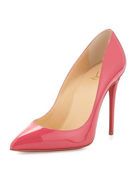 Pigalle Follies Patent Red Sole Pump, BonBon