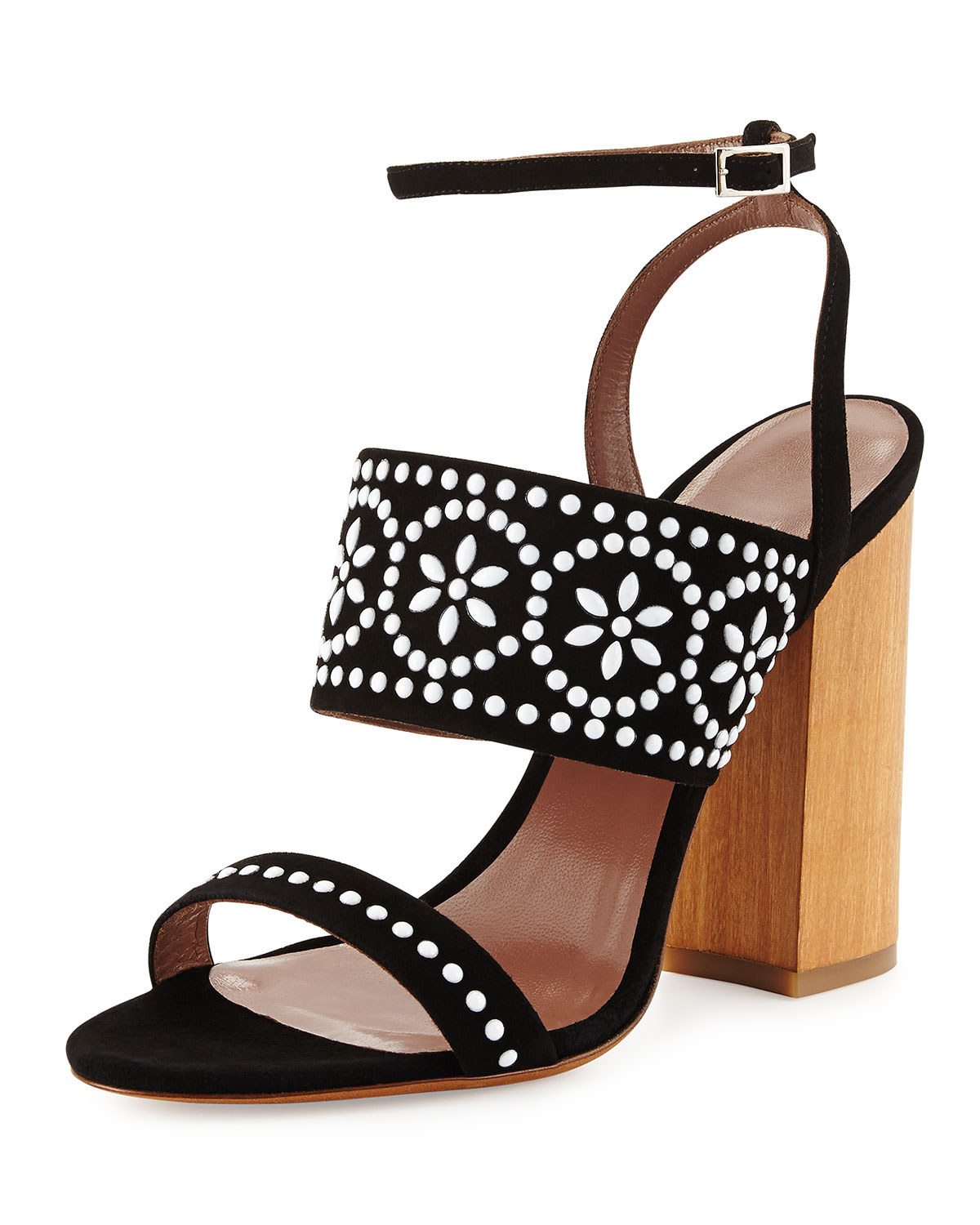 new arrival for sale extremely Tabitha Simmons Beaded Slide Sandals t0WprZtP