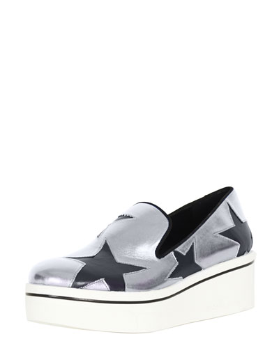 Stella McCartney Star Cutout Sneaker Loafer