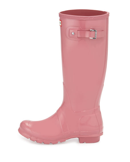 Original Tall Gloss Rain Boot, Rhodonite Pink