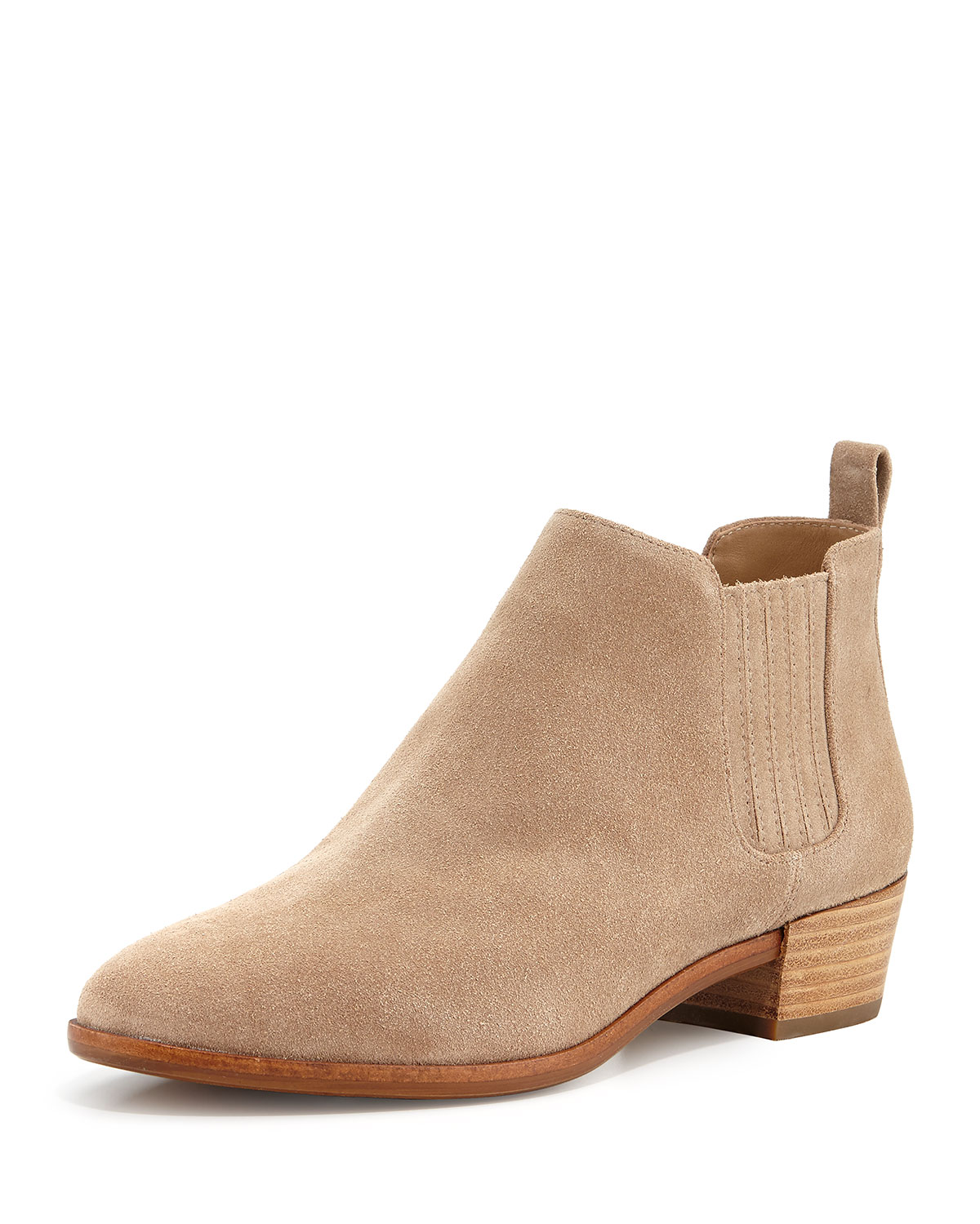 73f71911a743 MICHAEL Michael Kors Shaw Suede Flat Bootie