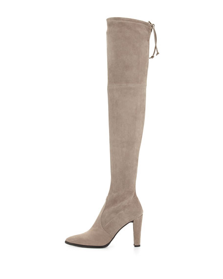 Highstreet Stretch Over-the-Knee Boot, Topo