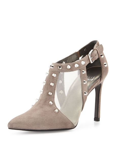 Saunter Studded Ankle Bootie, Topo