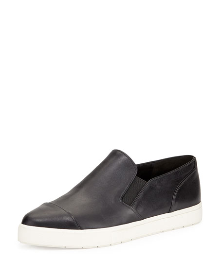 Vince Paeyre Leather Sneaker, Black