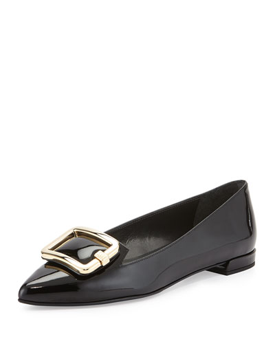 Signon Patent Ornament Flat, Black