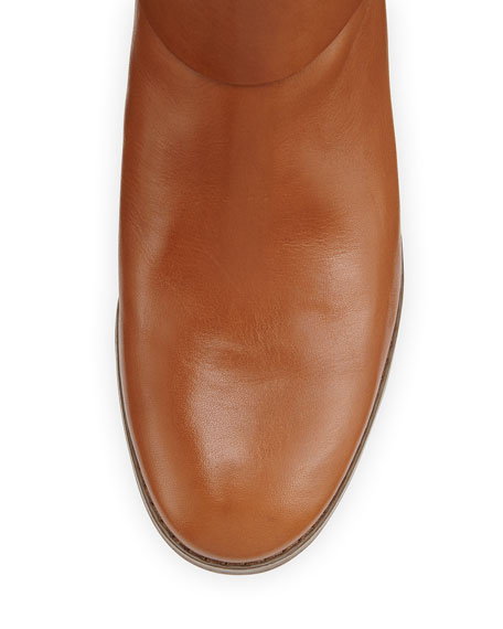 Fulton Harness Leather Riding Boot, Luggage
