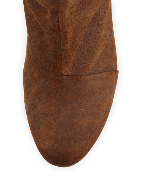 Classic Newbury Leather Ankle Boot, Brown