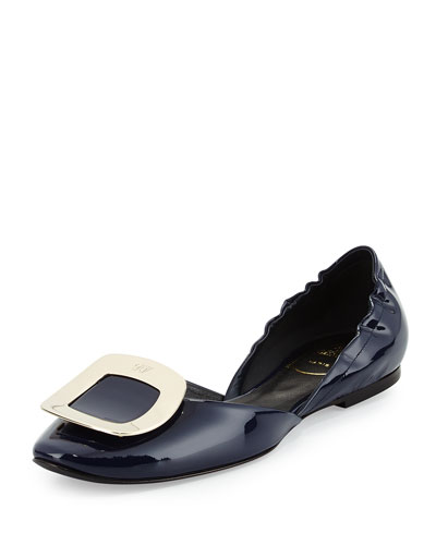 Ballerine Chips Patent Leather d