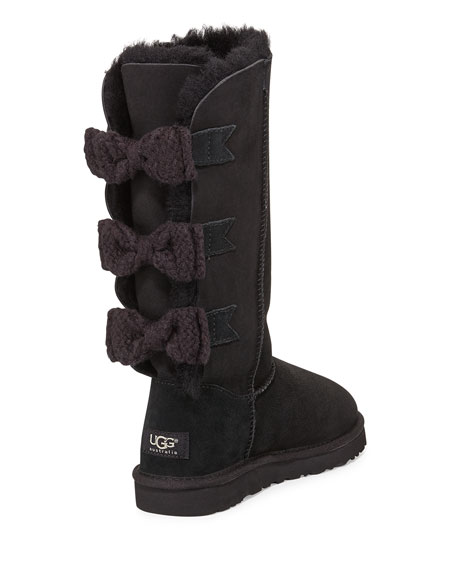 Bailey Knit-Bow Tall Boot