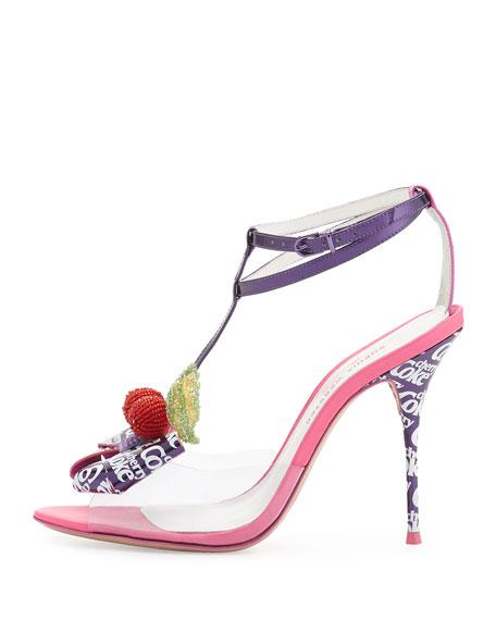 Lana Cherry Coke Sandal, Purple