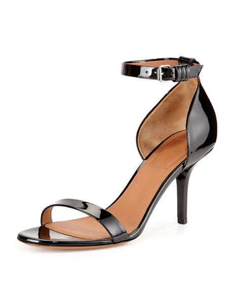 Givenchy Petra Patent d'Orsay Sandal, Black