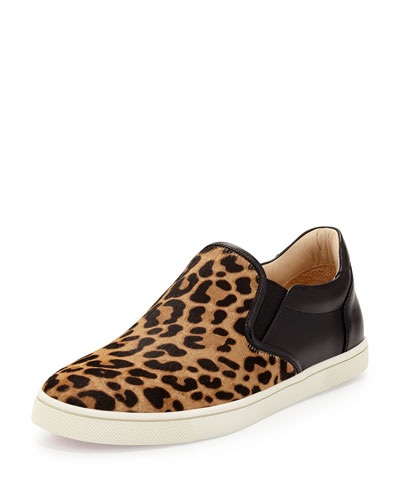 Master Key Calf-Hair Sneaker, Animal