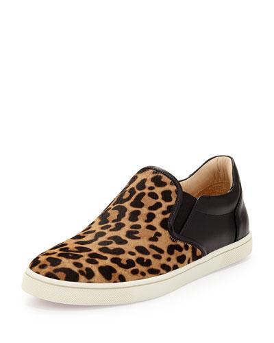 Master Key Calf-Hair Sneaker, Animal