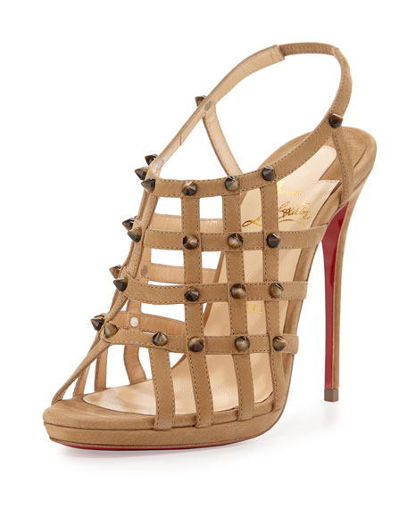 christian louboutin women's sova heel sandals