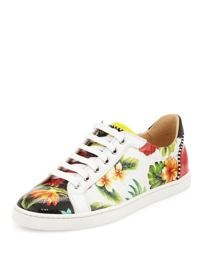 Seava Hawaii Low-Top Sneaker, Floral