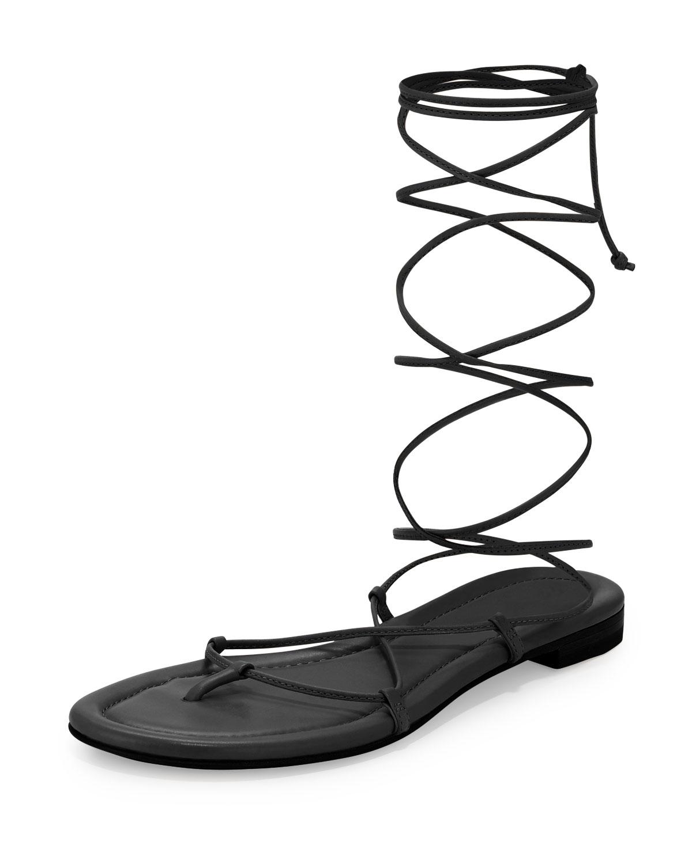 0f7c00c0df08 Michael Kors Bradshaw Lace-Up Gladiator Sandal
