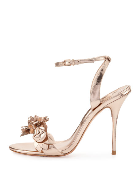 Sophia Webster Lilico Metallic Sandals 100% authentic cheap online 76iQ0Ma