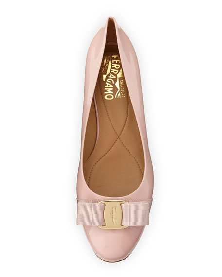 Patent Bow Ballerina Flat, Bon Bon