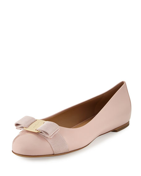Salvatore Ferragamo Varina Bow Flats free shipping pay with paypal outlet looking for sale for nice cheap pictures MdynHA