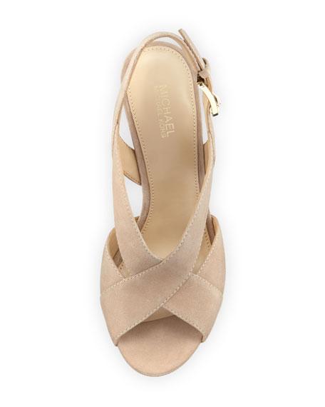 3428f240dcfa MICHAEL Michael Kors Becky Crisscross Slingback Sandal
