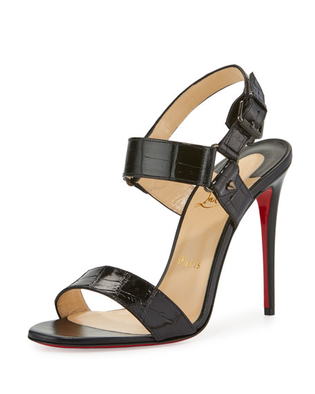louis vuitton red bottom shoes - Christian Louboutin New Very Prive Patent Red Sole Pump, Black/Red