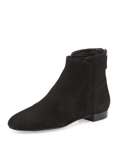 Myth Suede Ankle Boot, Black