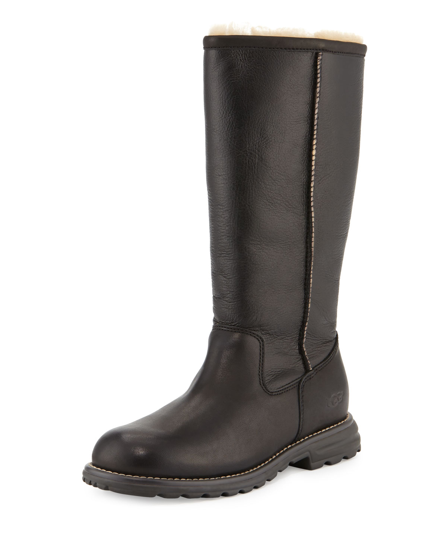 4a17b406cb8 Brooks Tall Sheepskin Leather Boot