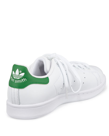 Stan Smith Classic Sneaker, White/Green