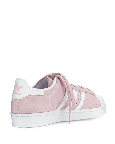 Superstar Original Fashion Sneaker, Clear Pink/White