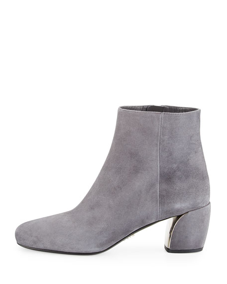 Suede 55mm Ankle Boot