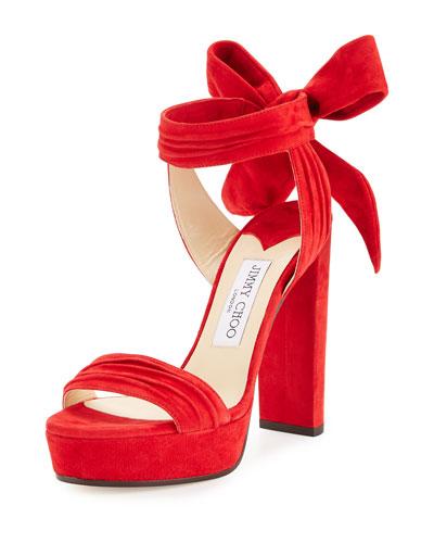 Heel Sandals Lace Up Amp Slide Sandals At Neiman Marcus
