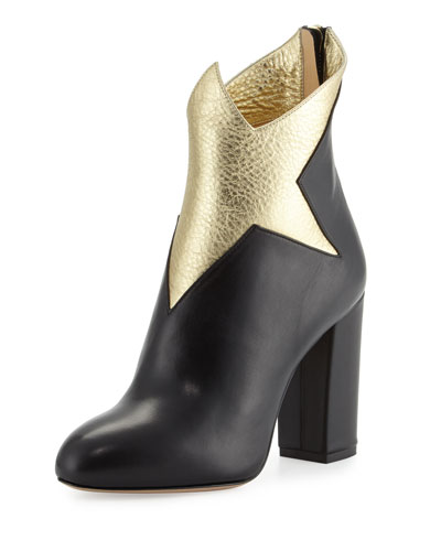 Galactica Star 100mm Bootie, Black/Gold