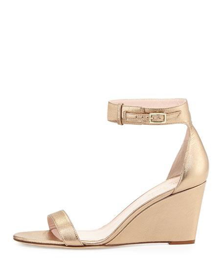 ronia naked wedge sandal, quartz